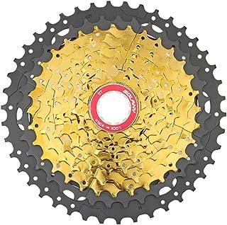 LIDAUTO MTB Cycling Freewheel Bicycle Sprocket Wheel Bike Cassettes Freewheels Wide Ratiof Compatible with Shimano, SRAM 10-Speed,11-42T