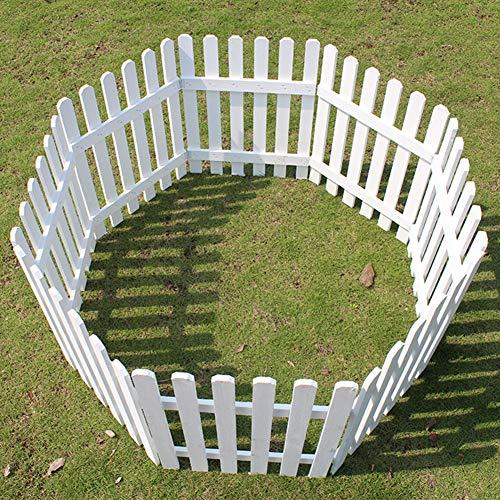 JIANFEI-weilan Gartenzaun Steckzaun Home Decoration Blumenbeetkante Anlage Leitplanke Wasserdicht Korrosionsbeständig, 5 Größen (Color : Brown, Size : 45x90cm)