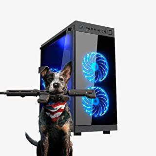 PC Gamer AMD Ryzen 5 2ª Geração, 8GB RAM DDR4, HD 1TB + SSD 120GB, GTX 1050TI 4GB, Fonte Real 500w