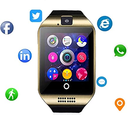 Smartwatch for Android - Smart Watch Fitness Tracker with Heart Rate & Blood Pressure & for Women Men - Waterproof Activity Tracker with Pedometer & Calorie Counter