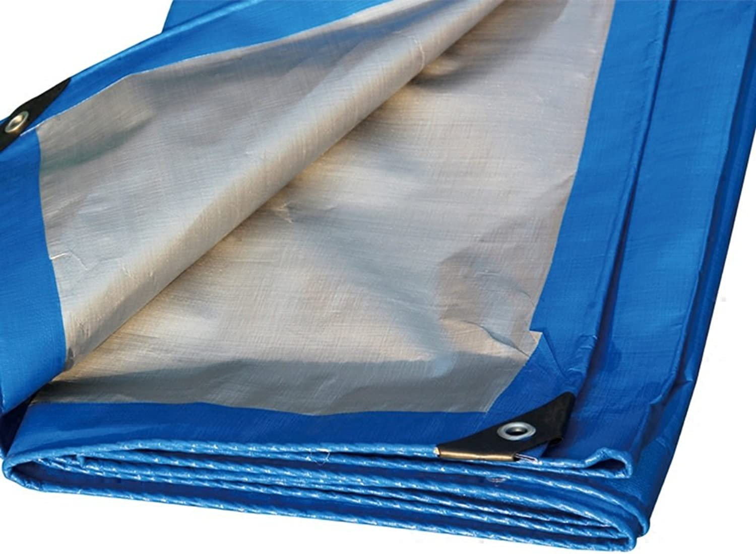 bluee color Polyethylene Plus Thick Rain Cloth Waterproof Sun Predection 10 Kinds Size Can Be Used for Warehouses Construction Trucks Factories and EnterprisesGulf Pier
