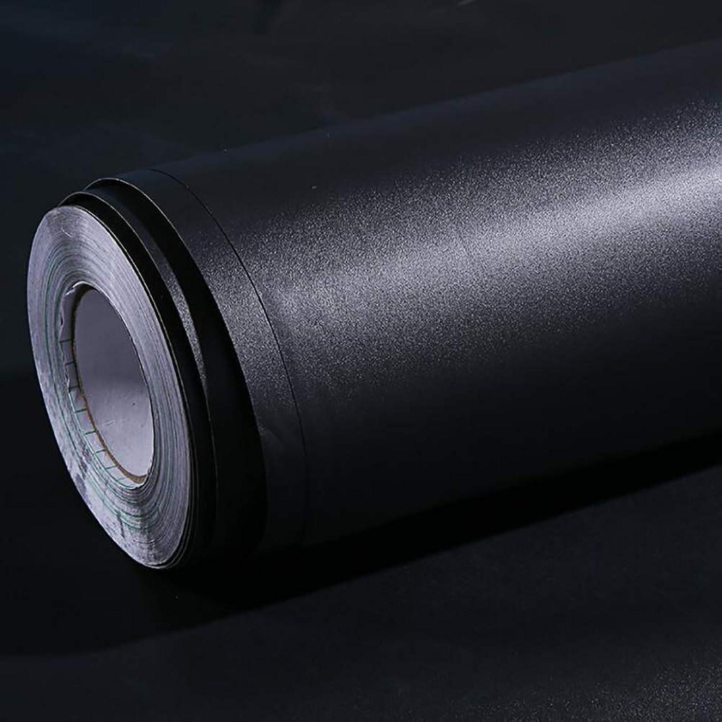 決めますほめる車両ブラックアウトウィンドウフィルム100%遮光プライバシーフィルムブラック自己粘着性ウィンドウステッカーダークニングフィルムアンチUVウィンドウティントベッドルーム,40x500cm(16x197inch)