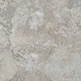 Achim Home Furnishings MJVT180210 Majestic Vinyl Floor Tile, 18 x 18 inches, Light Gray Slate,...