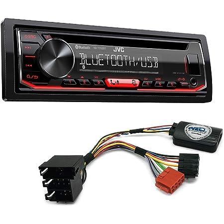 Jvc Kd T716bt Car Radio For Nissan Micra Note Including Elektronik