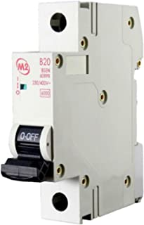 Proteus M2 BRSPK 30mA B type Compact RCBO Circuit Breaker Free Delivery
