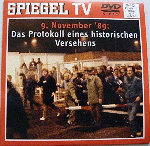 Spiegel TV DVD Nr. 21: 9. November '89: Das Protokoll eines historischen Versehens