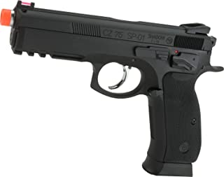 Evike CZ75 SP-01 Shadow Gas Blowback Airsoft Pistol by ASG
