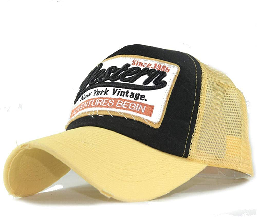 Sun Caps Baseball Spring Summer Multicolor Limited time trial price Snapbac Peaked Cotton Max 74% OFF