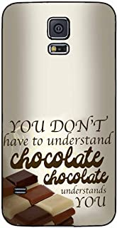 You Don't Have To Understand Chocolate TPU RUBBER SILICONE Phone Case Back Cover Samsung Galaxy S5 I9600 includes BleuReign(TM) Cloth and Warranty Label