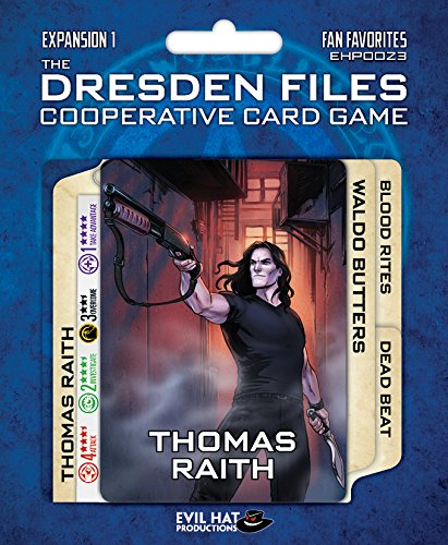 Evil Hat Productions EHP00023 kaartspel Dresden Files: Cooperative Expansion 1-fan favoriet