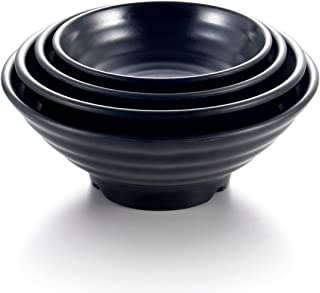 Kinglang 4 Sizes Plastic Hot Sale Big Ajisen Ramen & Noodle Bowl Korean Japanese Restaurant