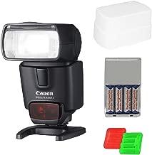 Canon Speedlite 430EX II Flash + Accessory Kit