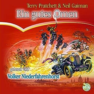 Ein gutes Omen     Der völlig andere Hexen-Roman              Autor:                                                                                                                                 Terry Pratchett,                                                                                        Neil Gaiman                               Sprecher:                                                                                                                                 Volker Niederfahrenhorst                      Spieldauer: 15 Std. und 26 Min.     881 Bewertungen     Gesamt 4,6