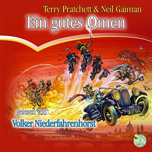 Ein gutes Omen audiobook cover art