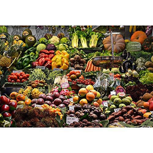 Puzzle Las Verduras y Frutas Rompecabezas Agradable alimento de la Serie Juguetes aliviar el estrés 500/1000/2000/3000/5000/6000 Regalos de Piezas Decorativas de Madera Adultos 0602