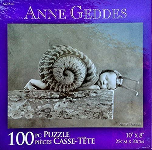 Anne Geddes 100 Piece Puzzle - Snail Baby by Karmin International