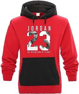 Jordan Hoodie Men 23 Patchwork Letter Print Sweatshirt Solid Hoody Pullover Tracksuits