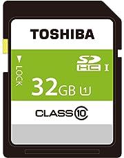 東芝 SDHCカード 32GB Class10 UHS-I対応 (最大転送速度48MB/s) 日本製 国内正規品 Amazon.co.jpモデル THN-NW32G4R8