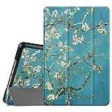FINTIE SlimShell Funda para iPad Mini 4 - Súper Delgada y Ligera Carcasa con Función de Soporte y Auto-Reposo/Activación para iPad Mini 4 (Versión 2015), Flores