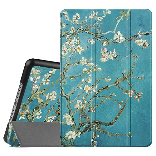 Fintie Case for iPad Mini 4 - Slimshell Lightweight Smart Stand Protective Cover with Auto Sleep/Wake Feature for iPad Mini 4 (2015 Release), Blossom