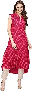 Jaipur Kurti Women's Rayon Straight Salwar Suit Set