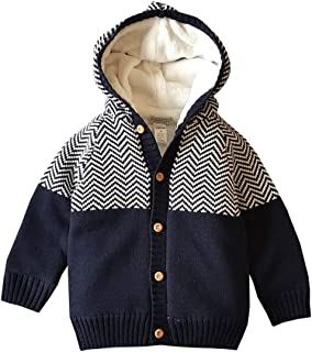 Boys' Baby Clothing 2019 Baby Sweater Boys Cardigan Autumn Hooded Faux Collar Knitted Boys Girls Jacket And Coat Toddler Baby Girl Sweater Pullover