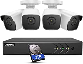 ANNKE 8CH 5MP Home Security Camera System, 4× 5.0MP (2560 X 1944)Wired Outdoor Bullet Cameras, 8-Channel Ultra HD 4K Video...