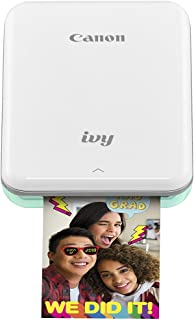 Canon IVY Mobile Mini Photo Printer through Bluetooth(R), Mint Green