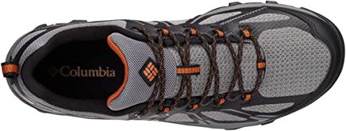 Columbia Homme Chaussures Multisport, Imperméable, PEAKFREAK XCRSN II XCEL Faible OUTDRY, Taille 40, gris (TI gris Steel, Bright Copper)