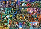 1000 Pieces Jigsaw Puzzles for Adults & Children Kids, Themes Puzzle Sets for Family, Educational Games, Wood Puzzles - Aimee Stewart Myths & Legends