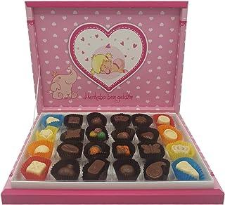 Kız Bebek Karma Dolgulu Special Çikolata Kutusu ( 300 gr )
