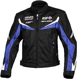 エルフ(ELF) バイク用ジャケット ベローチェメッシュジャケット ブルー Lサイズ EL-9227