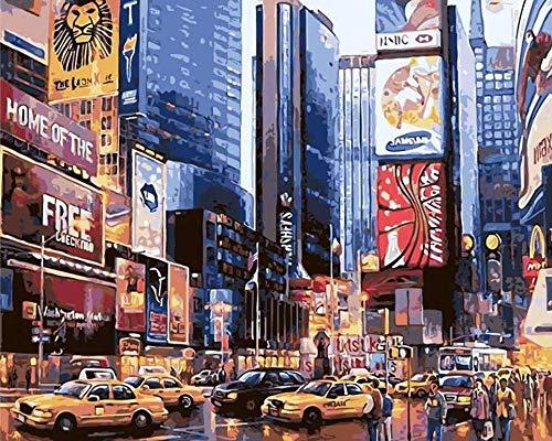 XVBABY Juegos De Rompecabezas para La Damiliarompecabezas De Pintura Al Óleo De La Calle De La Ciudad, Rompecabezas De Juego De Descompresión para Adultos, 1000 Piezas