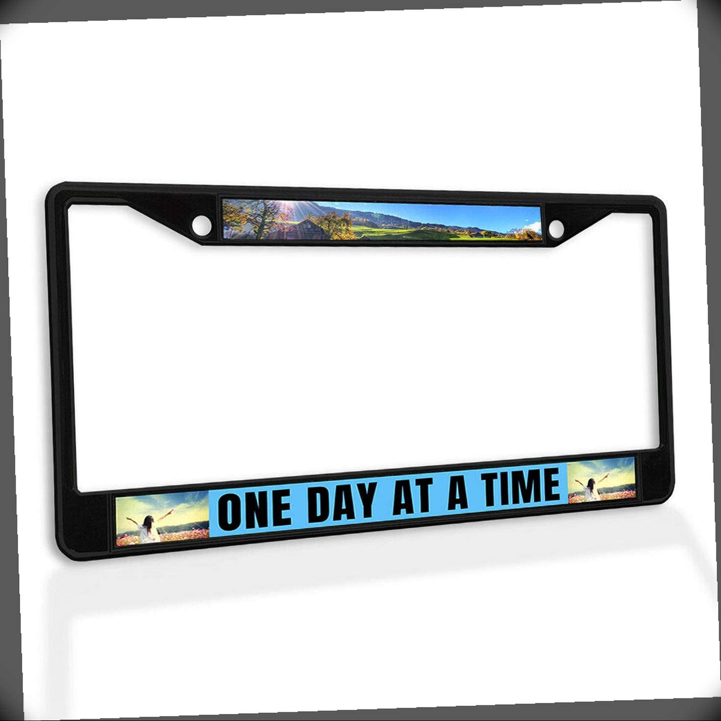 New License Plate High quality Frame 1 Day at T Ranking TOP12 Time Metal A Insert Car