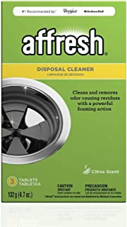 Affresh W10509526 Garbage Disposal Cleaner | Removes Odor Causing Residues, U.S. EPA Safer Choice Certified, 3 Tablets, 3 Count