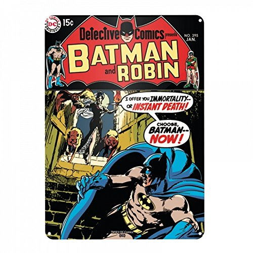 DC Comics - Batman - A3 metalen bord - Detective Comics - Batman & Robin