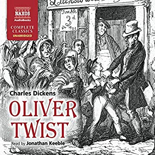 Oliver Twist                   Written by:                                                                                                                                 Charles Dickens                               Narrated by:                                                                                                                                 Jonathan Keeble                      Length: 16 hrs and 17 mins     Not rated yet     Overall 0.0