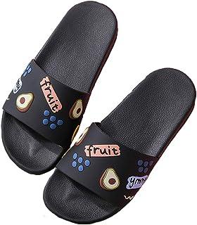 Women's and Men's Shower Slide Sandals Open Toe House Bath Slippers