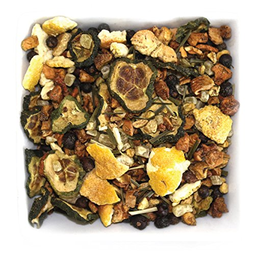 Tealyra - Cucumber Lemon Spa - Ginger - Lemongrass - Detox - Digest Wellness Loose Leaf Tea - No Caffeine - 112g (4-ounce)