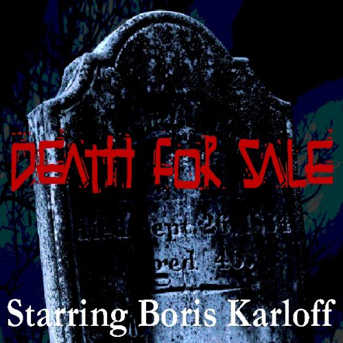 Death For Sale (Dramatised) audiobook cover art