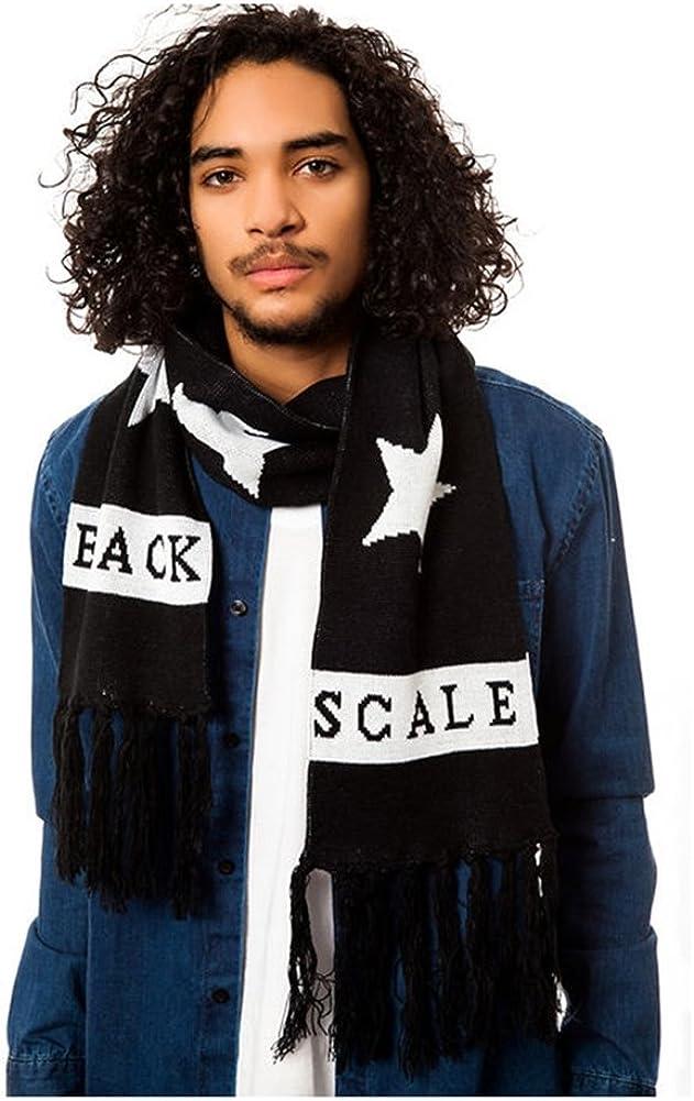 Black Scale Mens The Hide & Seek Scarf
