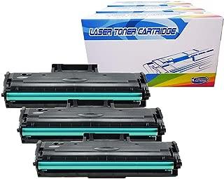 Inktoneram Compatible Toner Cartridges Replacement for Samsung D104S MLT-D104S MLTD104S SCX-3200 SCX-3200W SCX-3205 SCX-3205W ML-1660 ML-1660N ML-1665 ML-1670 ML-1675 ML-1865 ML-1865W (Black, 3-Pack)