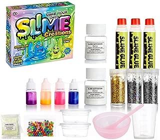 DmHirmg Slime Kit for Girls DIY Making Slime Supplies Kit,All-in-One Kit