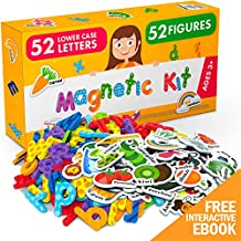 X-bet MAGNET Foam Magnets and Magnetic Letters for Toddlers and Kids - ABC Alphabet Magnets for Refrigerator and Dry Erase Board - Baby Magnets for Fridge and Whiteboard - Ideal for Kids!