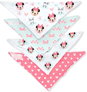 Disney Minnie Mouse - Babero para bebé, multicolor