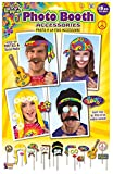 Forum Novelties X75903 Hippie - Portafotos decorativo, multicolor, talla única