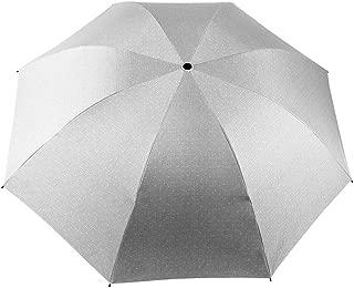 YQRYP Mini Travel Sun Rain Umbrella - Light Compact Parasol with UV Protection for Umbrella Men Women Multiple Colors Umbrella Windproof Umbrella, Golf Umbrella (Color : Gray)