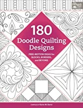180 Doodle Quilting Designs: Free-Motion Ideas for Blocks, Borders, and Beyond
