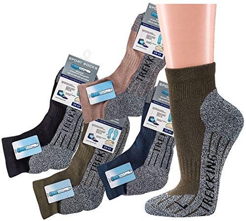 socksPur SOCKS PUR COOLMAX SOCKS TREKKING- KURZSCHAFT (39/42, 6938: COOLMAN SOCKS camel 1 PAAR)