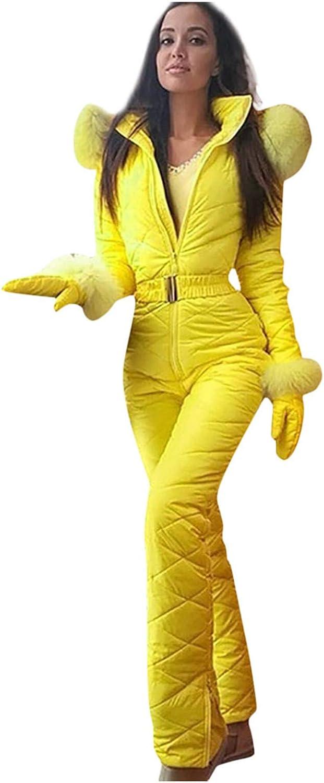 naioewe Womens Snowsuit One Nippon regular agency Piece Windproof Thic Warm Sales Waterproof
